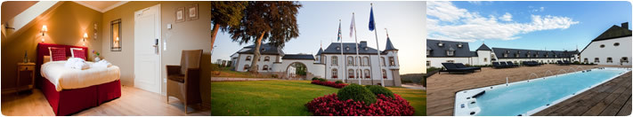 Overnachting hotel Duocheque - Chateau d'Urspelt