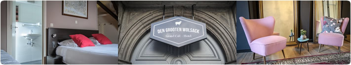 Overnachting hotel One Night Cheque - Guesthouse Den Wolsack